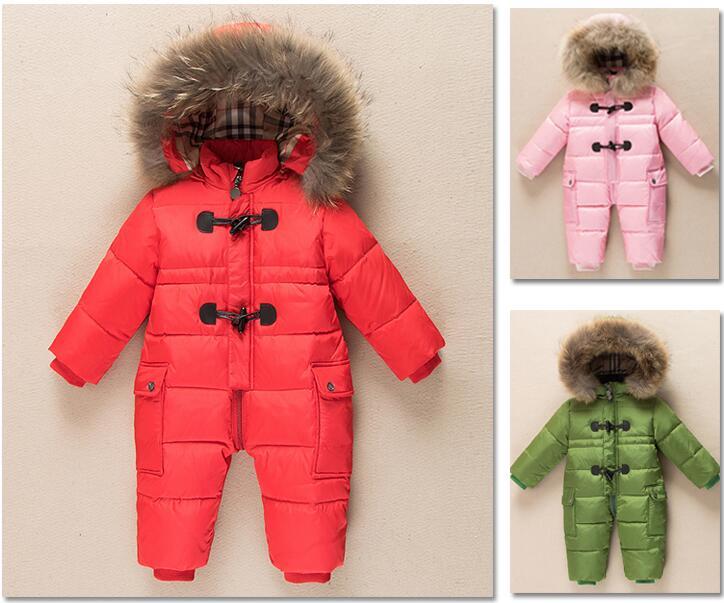 Baby Children Clothing Girls Climbling Clothes Sets For New Year's Eve Boys Parka Jackets Thick Down Snow Wear Size70-100 2016 winter boys ski suit set children s snowsuit for baby girl snow overalls ntural fur down jackets trousers clothing sets