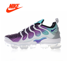 Original New Arrival Authentic Nike Air Vapormax Plus Grape TM Women's Breathable Running Shoes Sneakers Good Quality 924453-101