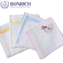 4PCS 2017 Soft Cartoon  Cotton/Bamboo Baby Care Towel For Children Kids Boys Girls Newborn Handkerchief Washcloths 36*36cm