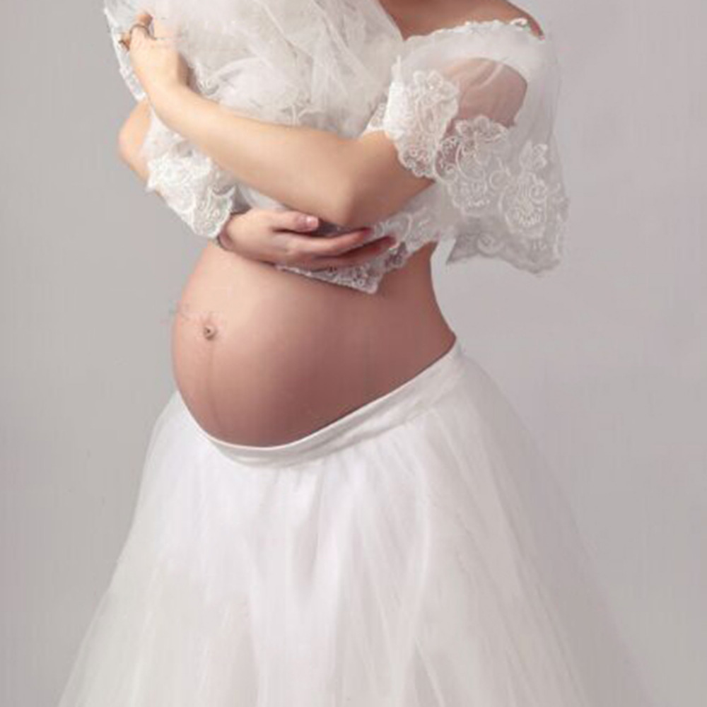 Fashion Maternity Dress Maternity Photography Prop Maternity Princess Dress Photography Props Lace Pregnancy Woman Photo Clothes