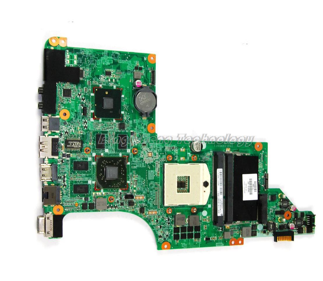 все цены на  Original laptop Motherboard For hp DV6 DV6T DV6-3000 592816-001 for intel cpu with HM55 HD5650 non-integrated graphics  онлайн