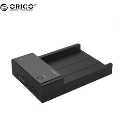 ORICO 6518C3 2.5 / 3.5 inch Haed Drive Dock with USB3.1 Type-C Port, 12V Power Adapter (Not including HDD)