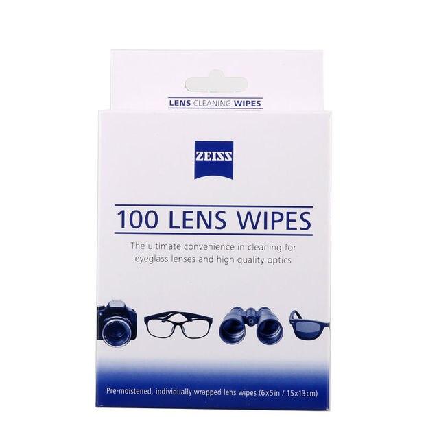add28eeed6727 100 pcs kit de limpeza de lentes ZEISS óculos de microfibra lcd limpo  toalhetes