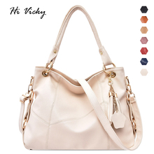 купить Luxury Brand Women Handbags White Lady Large Tote Bag Female Pu Leather Shoulder Bag Bolsas Femininas Sac A Main Brown Black Red по цене 1425.07 рублей
