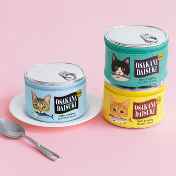 Cats Food Can Cute Makeup Box