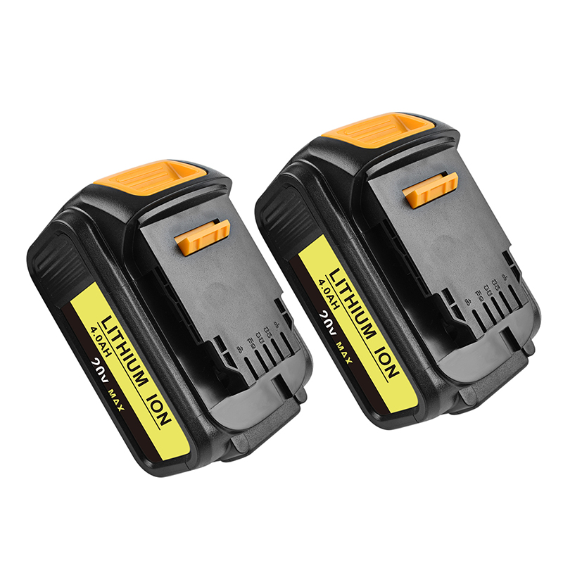 bonacell 2pcs 4000mAh for Dewalt DCB200 Replacement Battery 20V MAX Lithium Ion DCB204 DCB101 DCF885 DCD980