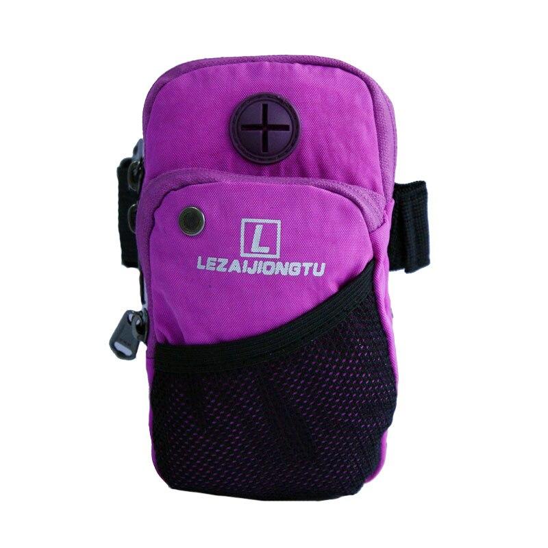 Lezaijiongtu Новинки 2017 нейлоновая маленькая водонепроницаемая сумка для бега мужская и женская спортивная сумка 6 цветов сумка для Бега на руку ...
