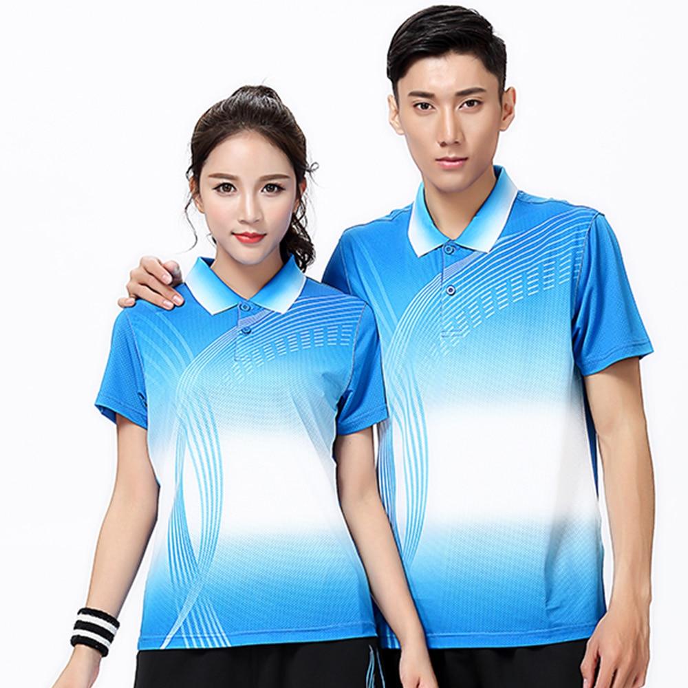 New Badminton wear shirt Women/Mens, Table Tennis shirt , sports Tennis shirt , Quick dry sports wear shirt 8811