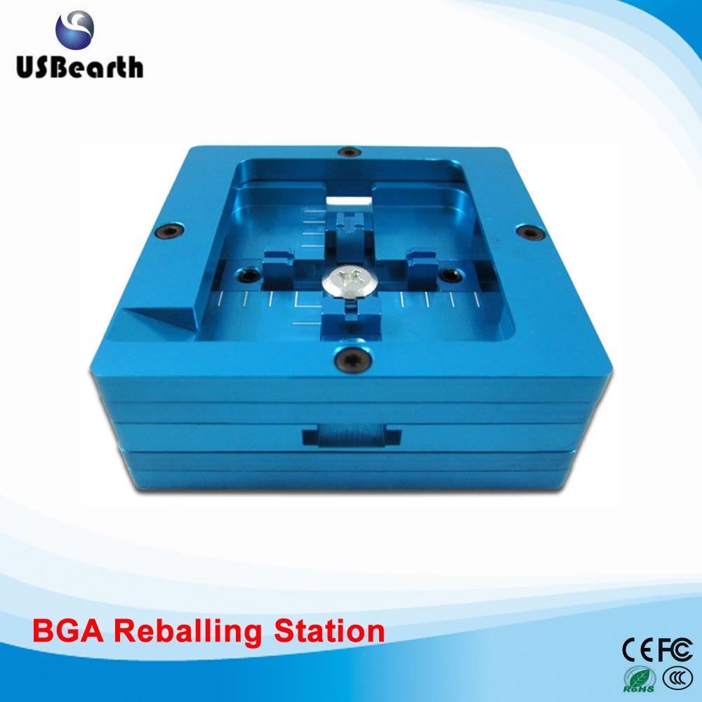 80MM dual frame blue bga reballing station, stencil holder jig for bga reballing 90mm bga reballing station bga jig stencil holder for bga reballing