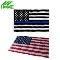 Jumbo 3x5ft 90cmx150cm American Flag United States Stars Stripes Thin Blue Line striped USA US America Polyester National Flags