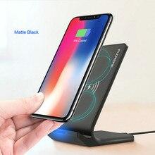 FLOVEME новое универсальное беспроводное зарядное устройство для Samsung Galaxy S8 S9 Примечание 8 быстро Зарядное устройство USB Беспроводной Беспроводная зарядка для iPhone X XS XR 10 Вт