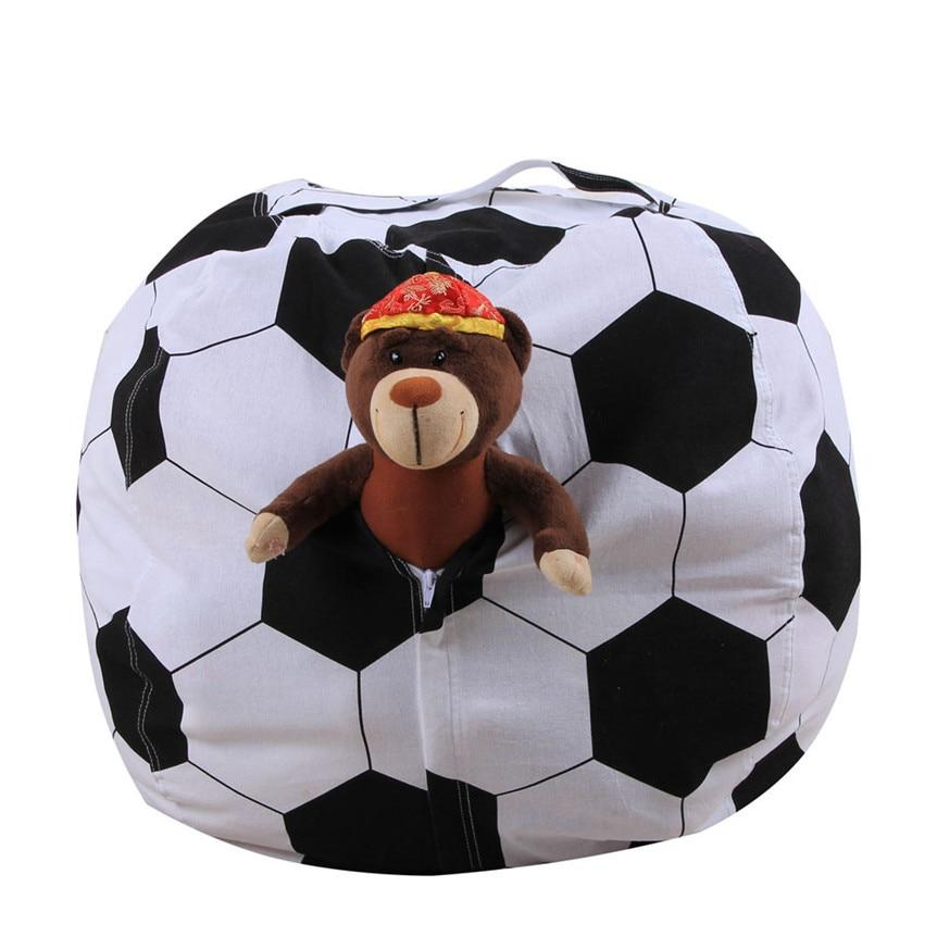 Ocardian Storage Bag Kids Stuffed Animal Plush Football