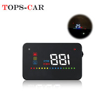 GEYIREN A200 Car OBD II de HUD OBD2 Overspeed Warning System proyector parabrisas agua temperatura voltaje alarma Head-Up Display(China)