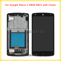 LCD Display Screen With Touch Screen Digitizer Assembly For LG Google Nexus 5 D820 D821 Black