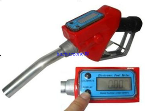 Üzemanyag-benzin dízel benzinolaj szállító pisztoly fúvóka - Mérőműszerek - Fénykép 3