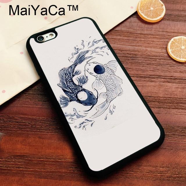 Maiyaca delicate koi pisces yin yang brand cover for apple iphone maiyaca delicate koi pisces yin yang brand cover for apple iphone 7 case soft tpu phone sciox Gallery