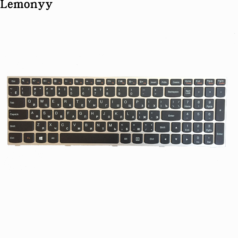 Image 2 - NEW Russian/RU laptop keyboard FOR Lenovo G50 Z50 B50 30 G50 70A G50 70H G50 30 G50 45 G50 70 G50 70m Z70 80 silver-in Replacement Keyboards from Computer & Office on
