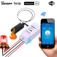Sonoff TH 10A 16A Temperature And Humidity Monitoring WiFi Smart Switch For Smart Home