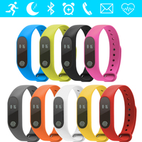GZDL Smart Band Heart Rate Monitor Sleep Fitness Tracker Call Reminder Wristband OLED Health Bracelet vs Xiaomi Mi Band WT8117