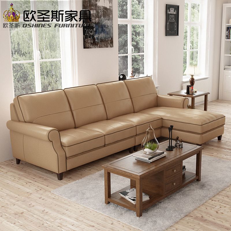 Cool valencia nubuck leather sofa American style leather sofa sectional high wood legs leather sofa set F75L in Living Room Sofas from Furniture on Simple - nubuck leather sofa Top Search