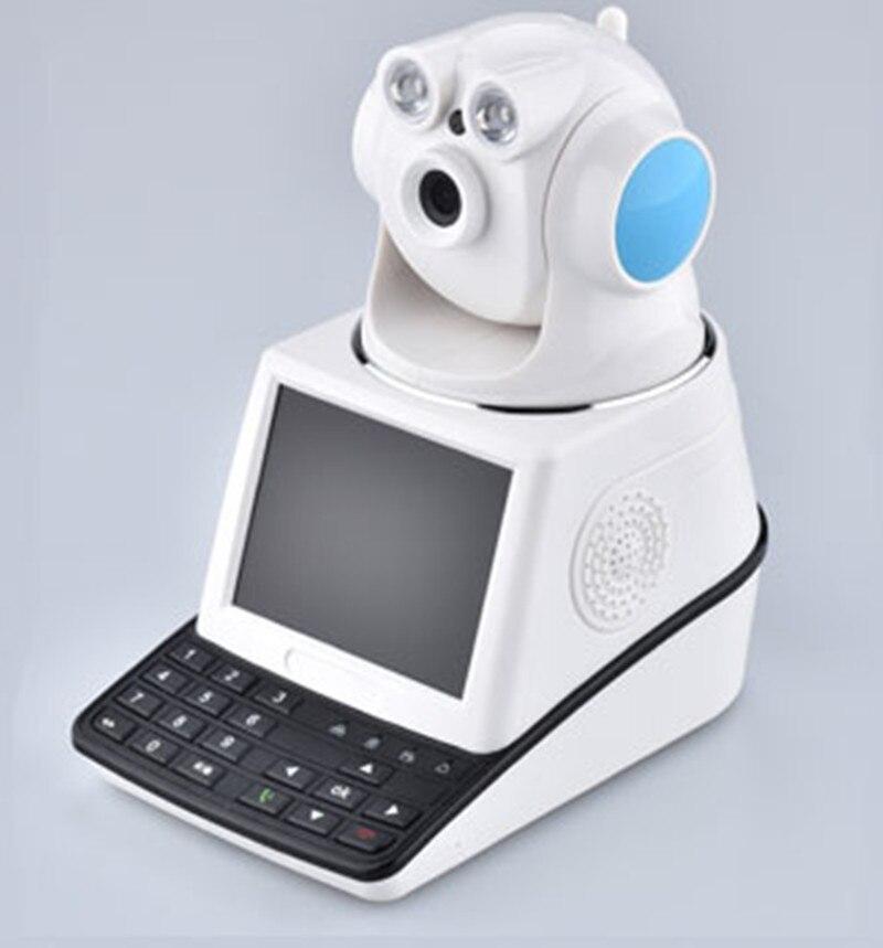 Caméra IP sans fil HD 1MP avec fonction d'alarme appel vidéo gratuit