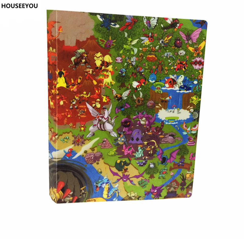 Toys For Cards : Ex collection cards album book kids toy holder