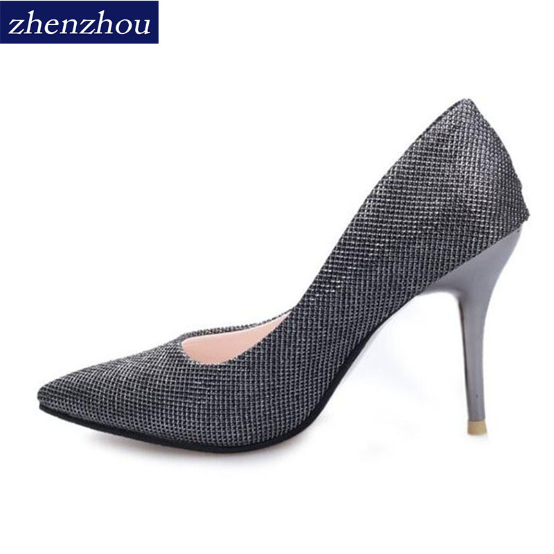 Free shipping Pumps 9.5cm  2018 High heels the stars will have a high fashion and low help Women's shoes free shipping 2pcs it8518e cxa hxs hxa etc please leave a message need to specify the version otherwise will randomly send
