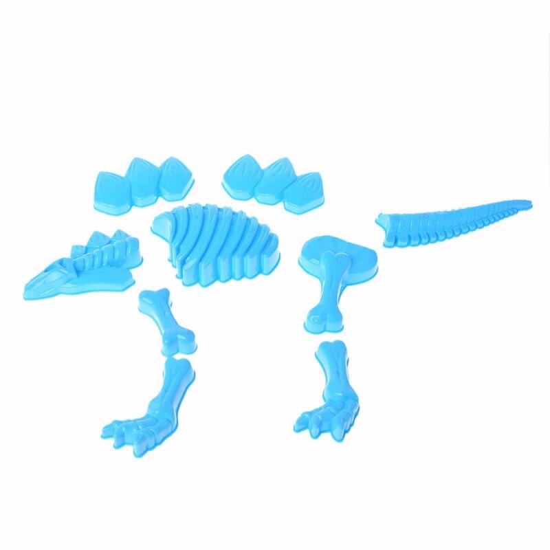Funny Dinosaur Skeleton Bone Sand Mold Beach Toys For Baby Children Kids Summer