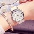 Nueva Llegada KEZZI Mujeres de la Marca de Relojes de Moda Relojes de pulsera de Cuarzo Para Las Mujeres Correa de Cuero Relojes de Diamantes Relojes Femeninos.