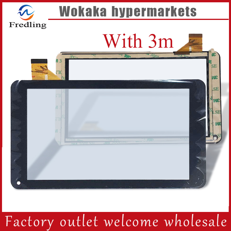 New For 7 inch DIGMA Optima D7.1 TS7001AW Tablet touch screen panel Digitizer Glass Sensor replacement Free Shipping for new mglctp 701271 yj371fpc v1 replacement touch screen digitizer glass 7 inch black white free shipping