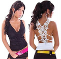 2016 Sexy women  Tank  tops  lace Spaghetti straps Plus Size Fashion Club Tops