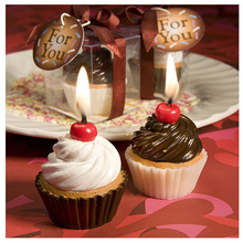 wedding party candle festival smokeless cream and chocolate children birthday Creative Candles small gifts