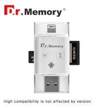 Micro SD Card Reader для Apple iPhone 6 S 7 Plus флешки металла расширение Телефона Android OTG карты памяти адаптер 2.0 интерфейс
