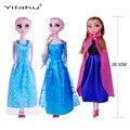 Princesa Elsa Anna niñas cenicienta muñecas Olaf niños juguetes para la muchacha Sharon Doll Brinquedos Meninas caliente venta DD001