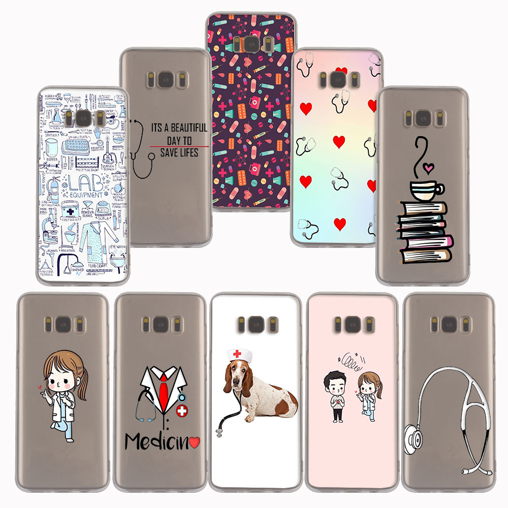 Cellphones & Telecommunications 022fg Medicine Nurse Doctor Dentist Soft Silicone Tpu Cover Phone Case For Samsung A3 2016 A5 2017 A6 Plus A7 A8 2018 S6 7 8 9 Clients First Phone Bags & Cases