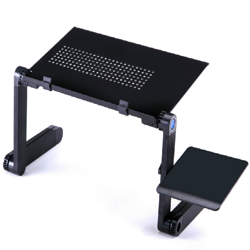 Multi Functional Ergonomic Mobile Laptop Table Stand For Bed Portable Sofa Laptop Table Foldable