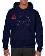 Hot Sale Hoodies Mitsubishi Auto Cars Logo Manner Printed All Sizes Sweatshirt цена