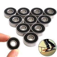 10PC 608-2RS Lager 8*22*7mm ABEC-5 Skateboard Roller Kugellager Miniatur Skate Roller Ball Lager kit