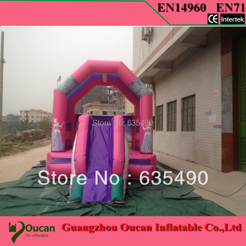 Inflatable Bouncer Castle With Slide Colourful Inflatable Jumping Castle Kids Inflatable Bouncer for Sale inflatable slides inflatable castle inflatable combinations inflatable bouncer hxb 423