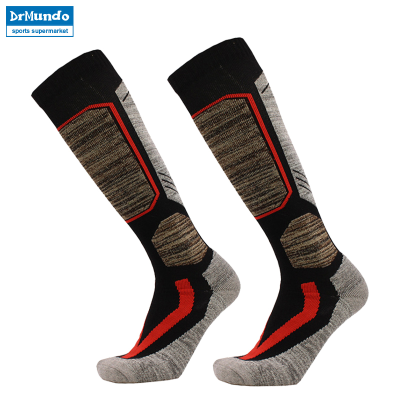3 pairs Winter Warm Men Women Thermal Long Ski Socks Thicker Cotton Sports Snowboard Climbing Camping Hiking Socks
