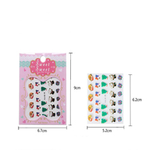 Christmas Nail Stickers DIY Craft Nail Art 3D Nail Stickers New Year Christmas Decoration Xmas Party  Favor Kids gifts natal.Q