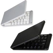Không Dây Gấp Bàn Phím Bluetooth Phát Sáng Và Tiện Dụng Bluetooth 3.0 Gấp Bàn Phím Có Thể Gập Lại BT Bàn Phím Số Không Dây Cho Điện Thoại Laptop