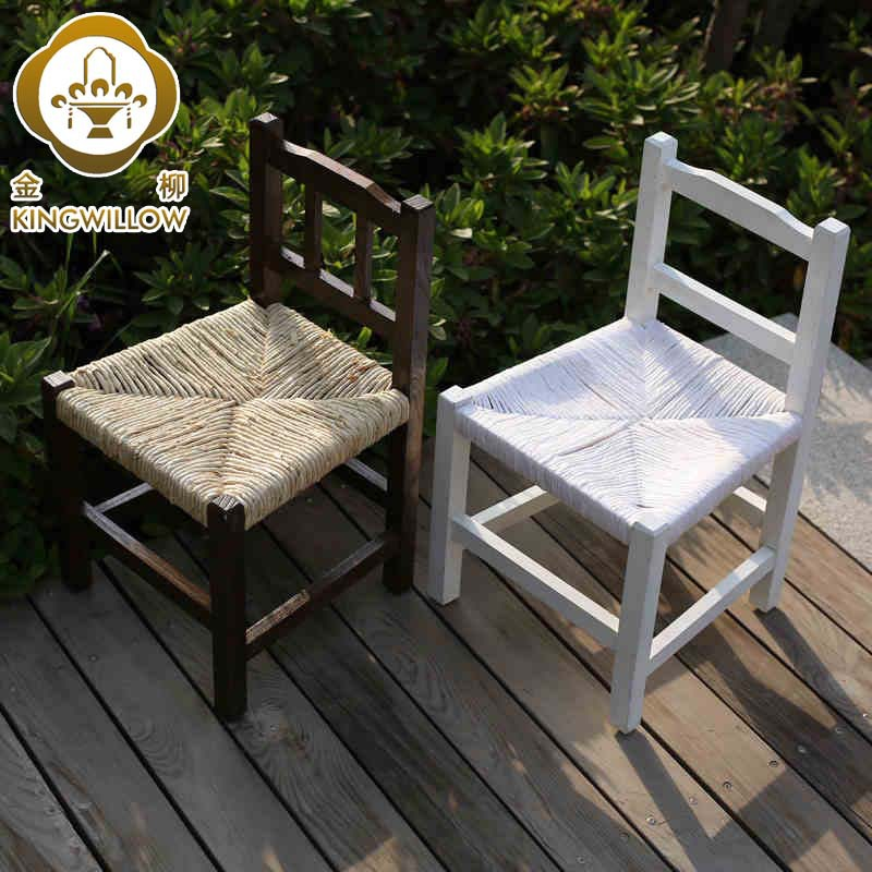 Enjoyable Kim Yoo Small Household Paper Rattan Chair Knitting Unemploymentrelief Wooden Chair Designs For Living Room Unemploymentrelieforg