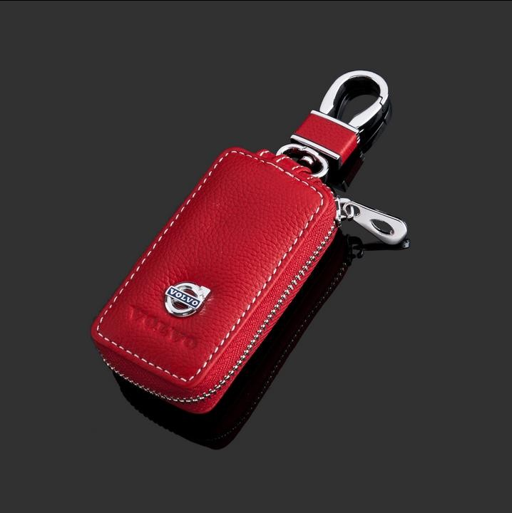 2016-New-luxurious-Design-Auto-Key-Wallet-For-Volvo-Fashion-Leather-car-key-case-cover-for (1)