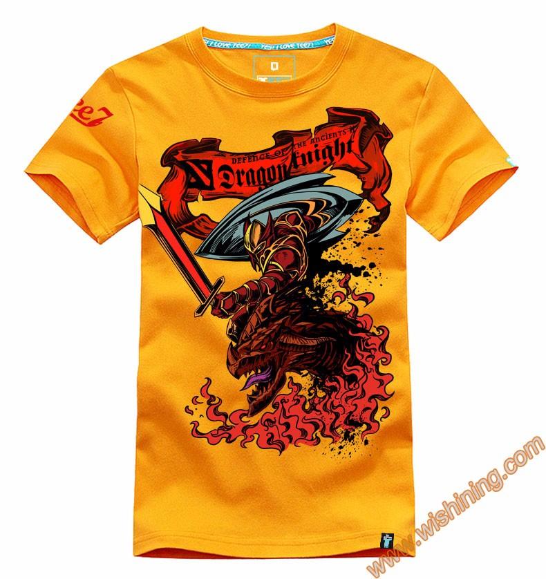 DOTA 2 Dragon Knight t shirt Tee8001 (2)