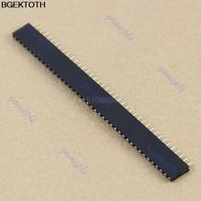10pcs/100pcs 40 Pin 2.54 mm Single Row Female Pin Header PCB M216 HOT SALE M126 hot sale