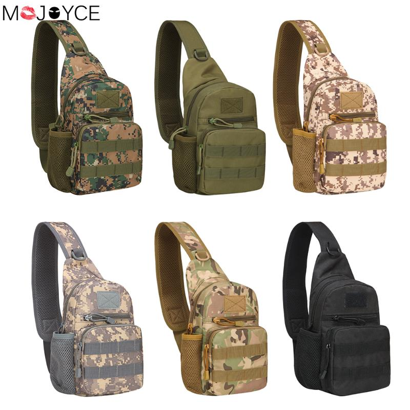 New Year Men Chest Bags 800D Oxford Military Travel Water Bottle Shoulder Messenger Sling Pack Chest Waterproof Bag Men Bags oxford waterproof cross body chest day back pack travel hike messenger water bottle kettle bag single shoulder bags rucksack