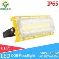 LED Flood Light 50W 100W 150W Cob Led Floodlight Waterproof IP65 AC190 260V Led Light Outdoor
