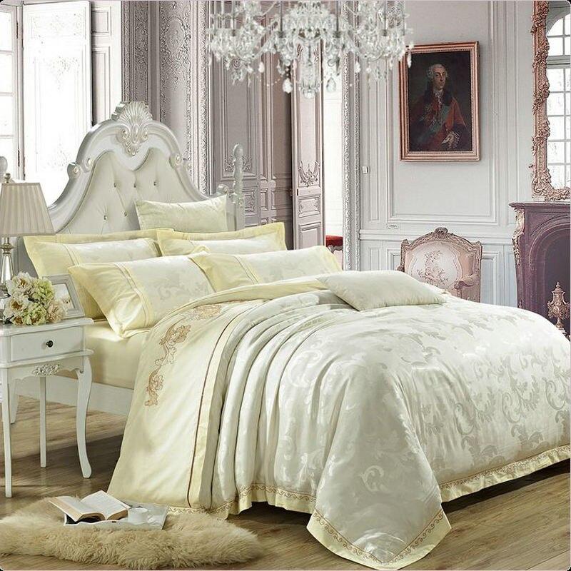 buy luxury jacquard bedding set king. Black Bedroom Furniture Sets. Home Design Ideas