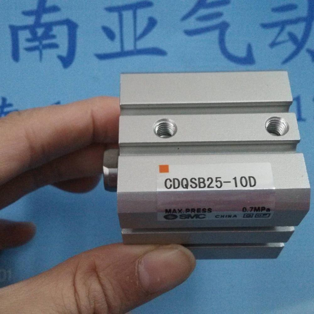 все цены на CDQSB25-10D SMC pneumatics pneumatic cylinder Pneumatic tools Compact cylinder Pneumatic components онлайн